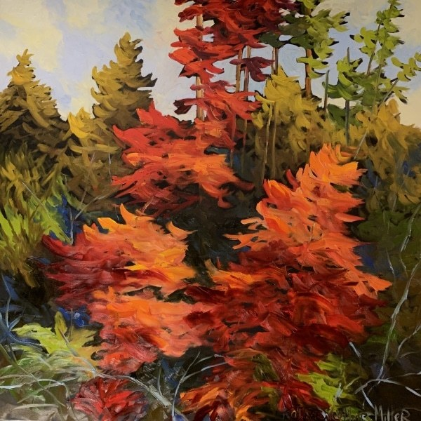 """Glorious Autumn 4 """"Oranges and Reds"""" #435"""