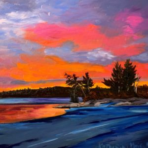 Temagami Sunset #536