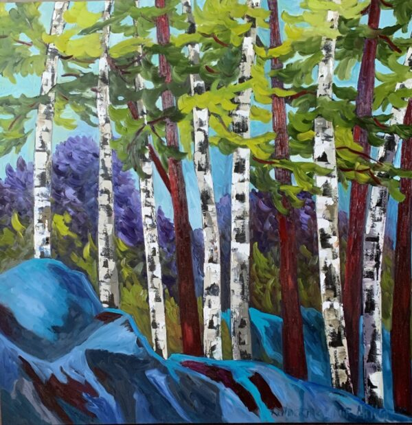 Blue Birches of Ontario