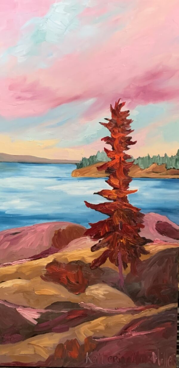 Pink Sky Red Pine
