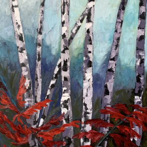 Sumacs and Birches